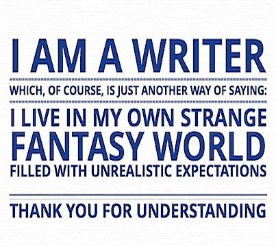 I'm a Writer (and other stuff)