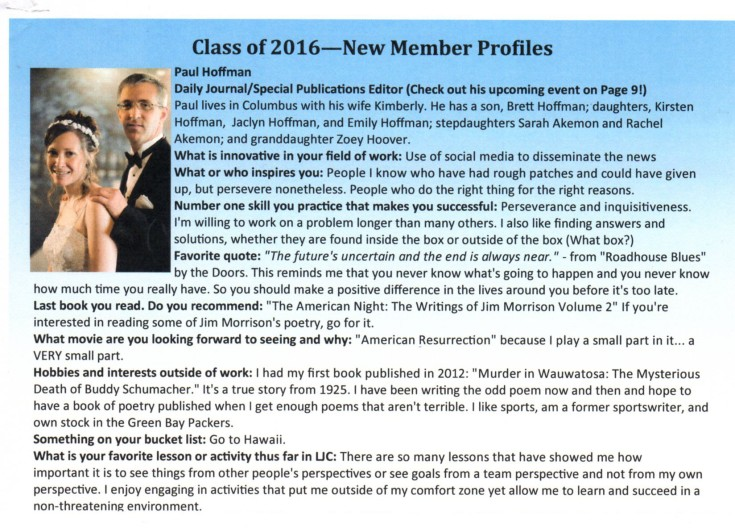 LJC Jan2016 newsletter bio001