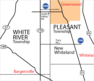 white-river-map
