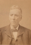 Isaac M. Brown, editor of The Evening Republican when he got into a public fight with Mayor George W. Cooper in 1877.