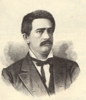 Geroge W. Cooper, who was 26 years old when he fought 56-year-old Isaac M. Brown in Columbus in 1877.