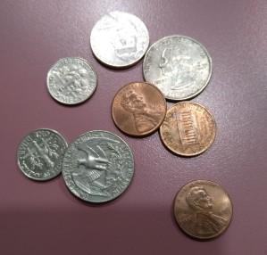Found money 78 cents