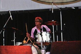 Drummer Back Page