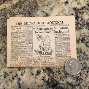 mini newspaper