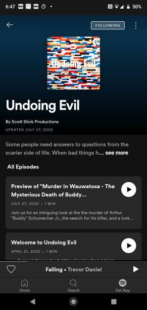 Podcast Undoing Evil